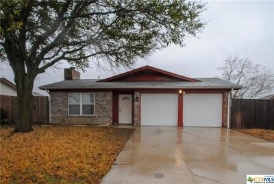 Killeen Single Family Home For Sale: 3508 Bacon Ranch