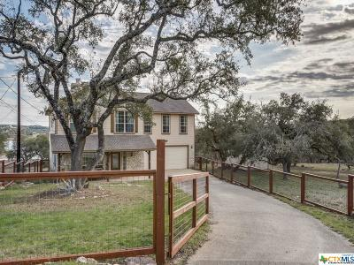 Canyon Lake Single Family Home For Sale: 1582 Canyon Lake Drive