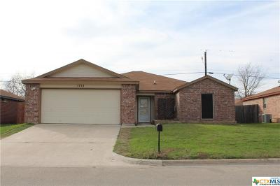 Belton Single Family Home For Sale: 1712 Liberty Hill Drive