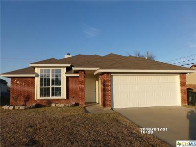 Killeen Single Family Home For Sale: 2401 Westwood Drive