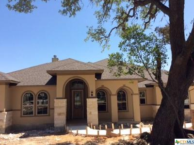New Braunfels TX Single Family Home For Sale: $554,990