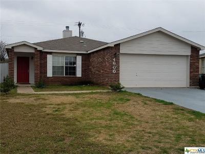 Killeen Single Family Home For Sale: 4600 Indigo Drive