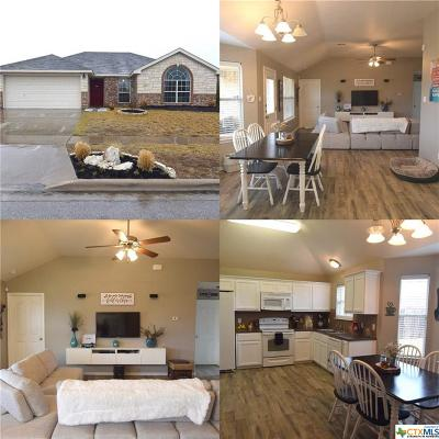 Killeen Single Family Home For Sale: 307 Leo