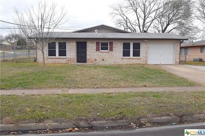 Killeen TX Single Family Home For Sale: $85,500