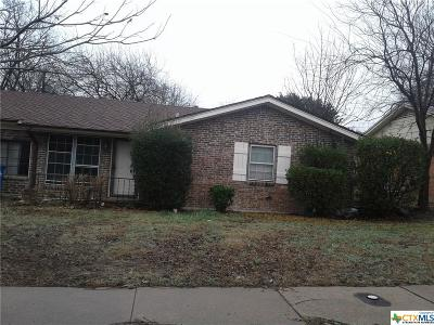 Copperas Cove Single Family Home For Sale: 303 Carothers Street