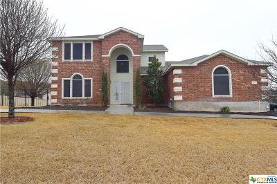 Harker Heights Single Family Home For Sale: 111 Stampede