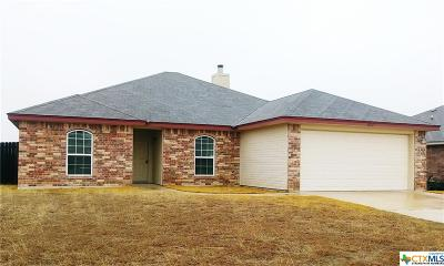 Killeen Single Family Home For Sale: 3711 Clementine Drive