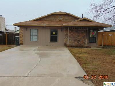 Killeen Single Family Home For Sale: 2208 Cimmaron Drive