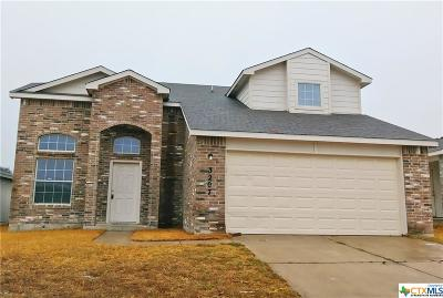 Killeen Single Family Home For Sale: 3207 John Porter Drive