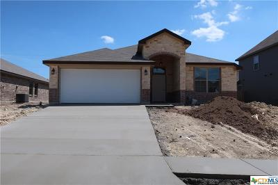 Copperas Cove TX Single Family Home For Sale: $181,000