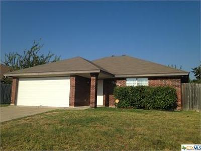 Killeen TX Single Family Home For Sale: $99,900