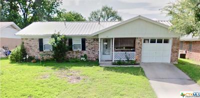 Copperas Cove TX Single Family Home For Sale: $69,900