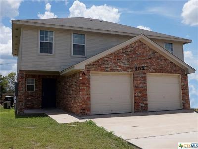 Nolanville Multi Family Home For Sale: 403 St John