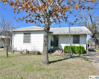 Temple TX Single Family Home Pending w/Option: $55,000