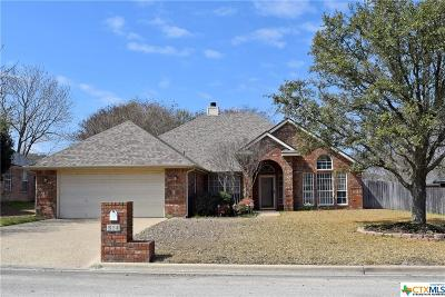 Harker Heights Single Family Home For Sale: 614 Man O War Drive