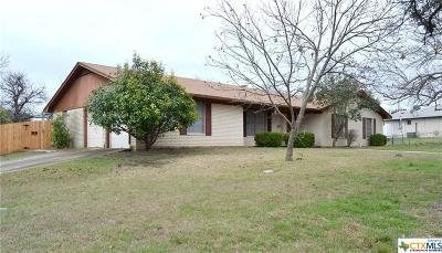 Harker Heights Single Family Home For Sale: 901 Verna Lee