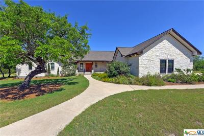 New Braunfels TX Single Family Home For Sale: $990,000