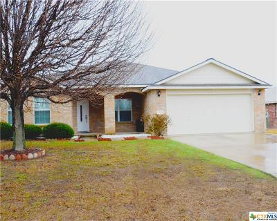 Harker Heights Single Family Home For Sale: 105 E Great Plains Trail