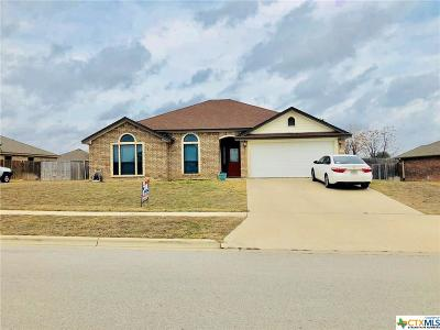 Copperas Cove TX Single Family Home For Sale: $159,000