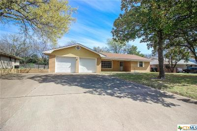 Temple Single Family Home For Sale: 3414 Chisholm