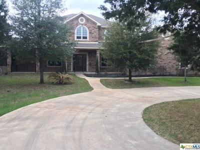 Belton Single Family Home For Sale: 844 Wheat