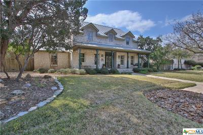 New Braunfels Single Family Home Pending Take Backups: 955 Moonglow