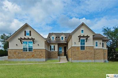 Canyon Lake Single Family Home For Sale: 2111 Comal Springs
