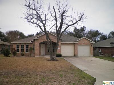 Harker Heights Single Family Home For Sale: 107 Deer Horn Pass