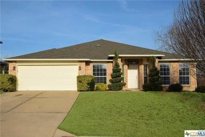 Harker Heights Single Family Home For Sale: 502 Lakota Lane