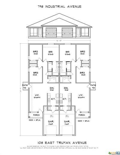 Copperas Cove Multi Family Home For Sale: 108 Truman Ave