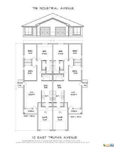 Copperas Cove Multi Family Home For Sale: 112 Truman Ave