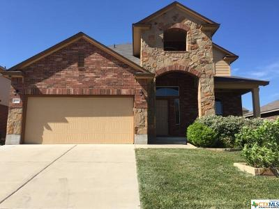 Killeen Single Family Home For Sale: 3303 Cricklewood Drive