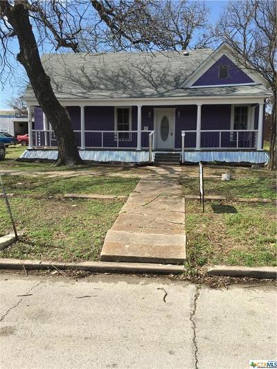 Temple Single Family Home For Sale: 110 N 6th Street