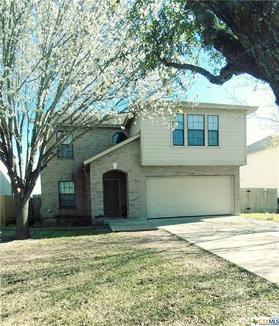 Kyle TX Single Family Home For Sale: $224,900