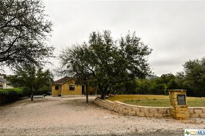 Burnet County Single Family Home For Sale: 1402 County Road 133