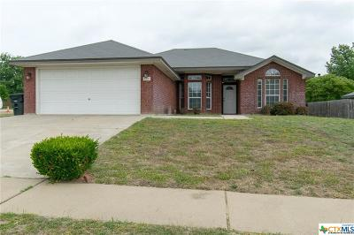 Killeen Single Family Home For Sale: 4101 Fawn Drive