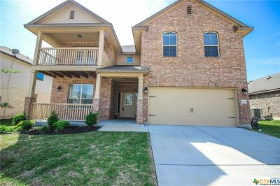 Killeen Single Family Home For Sale: 6403 Mustang Creek Road