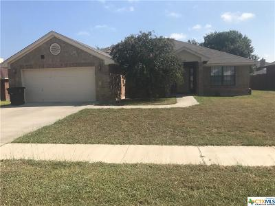 Killeen TX Single Family Home For Sale: $169,500