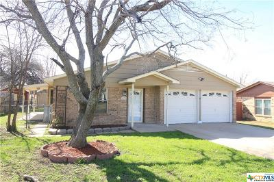 Copperas Cove Single Family Home For Sale: 109 W Hogan Drive
