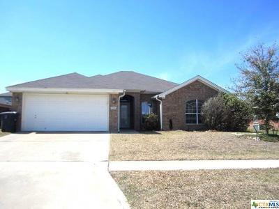 Killeen TX Single Family Home For Sale: $149,700