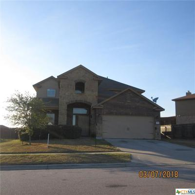 Killeen Single Family Home For Sale: 5507 Southern Belle Drive