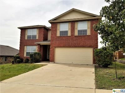 Copperas Cove TX Single Family Home For Sale: $220,000