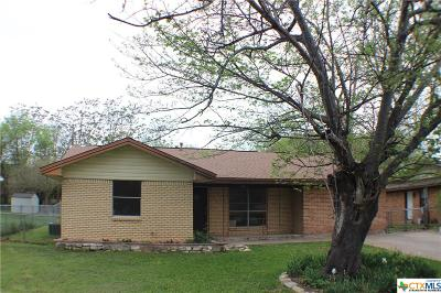 Harker Heights Single Family Home For Sale: 1618 Harley Drive
