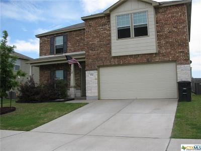Killeen Single Family Home For Sale: 304 Gemini