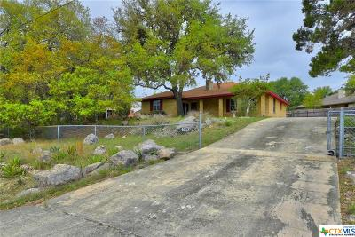 Canyon Lake Single Family Home For Sale: 339 Lighthouse