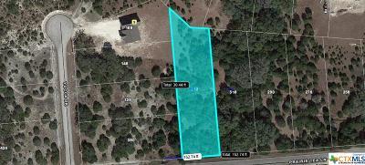 Canyon Lake Residential Lots & Land For Sale: 332 Prairie Tea