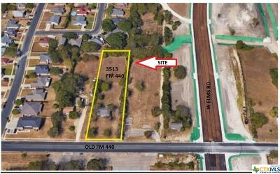 Killeen TX Residential Lots & Land For Sale: $100,000