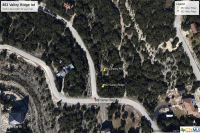 Residential Lots & Land For Sale: 863 Valley Ridge