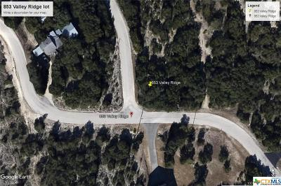 Residential Lots & Land For Sale: 853 Valley Ridge