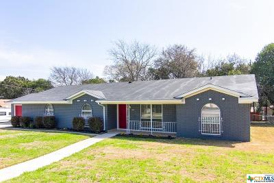 Harker Heights Single Family Home For Sale: 885 Nola Ruth